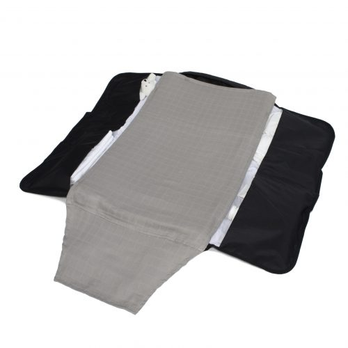 2 Pack Muslin Cloth - Grey/White